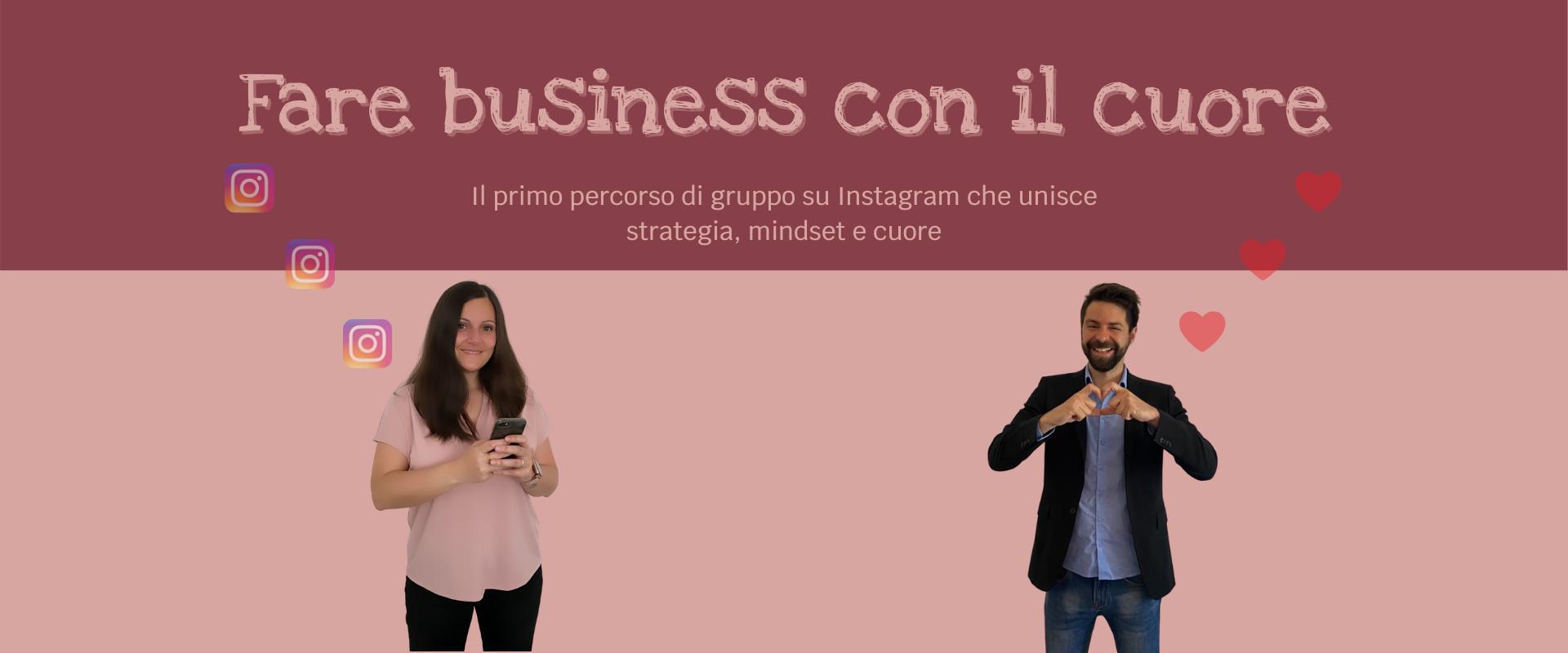 Fare business con il cuore - foto di Roberta e Matteo